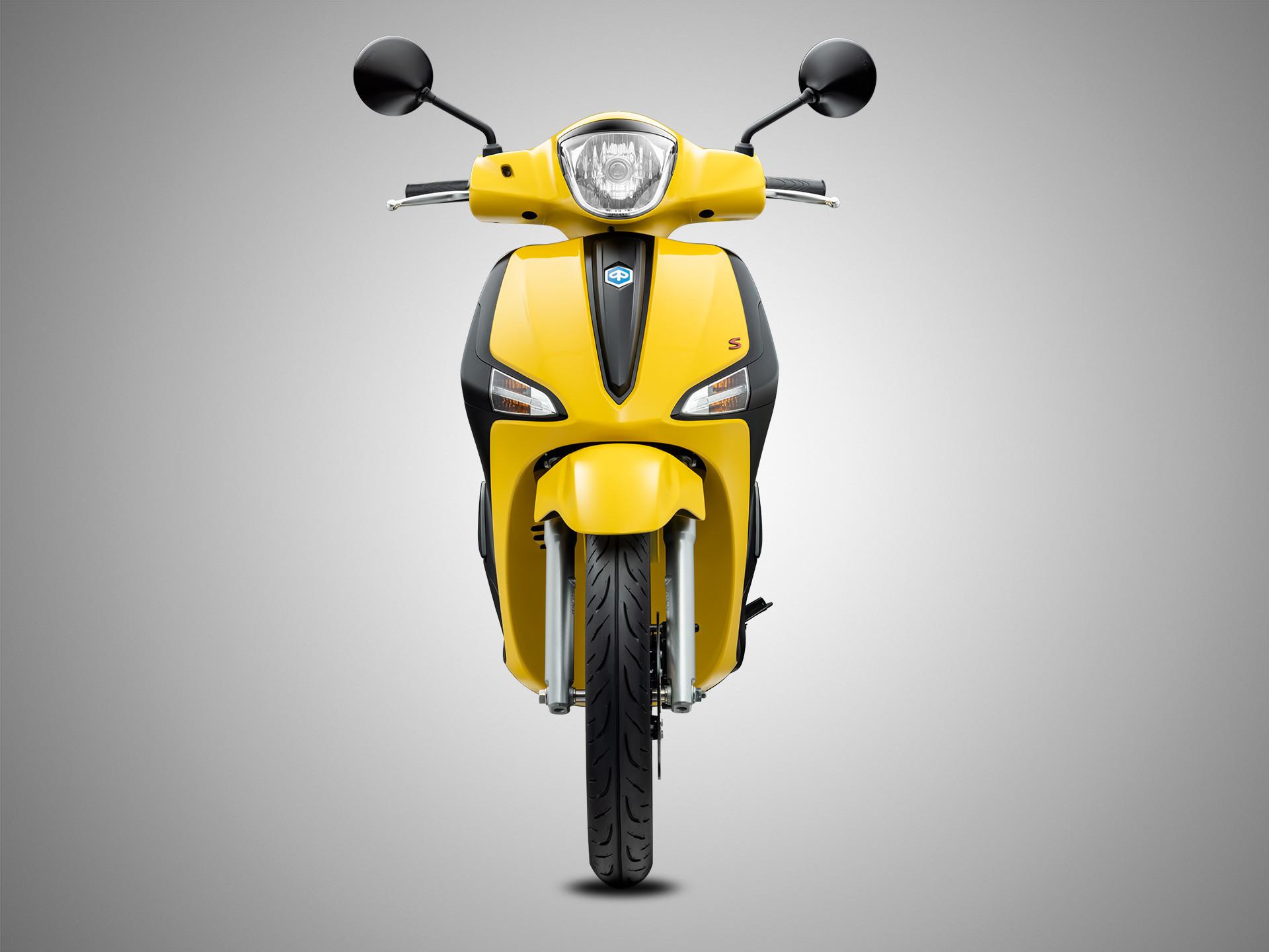Màu Vàng Yellow Sole cho dòng xe Piaggio Liberty S 125