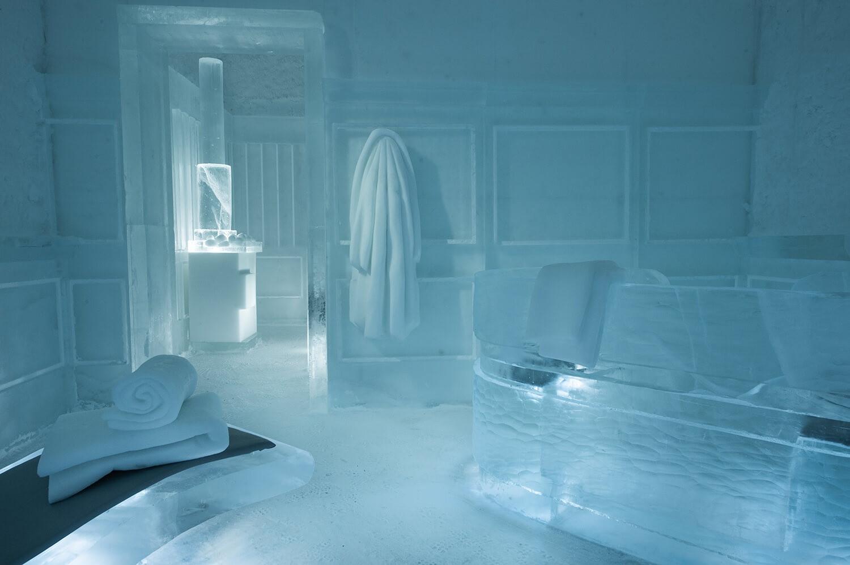 Khám phá vẻ đẹp độc nhất của khách sạn băng tuyết ở Thụy Điển - 4