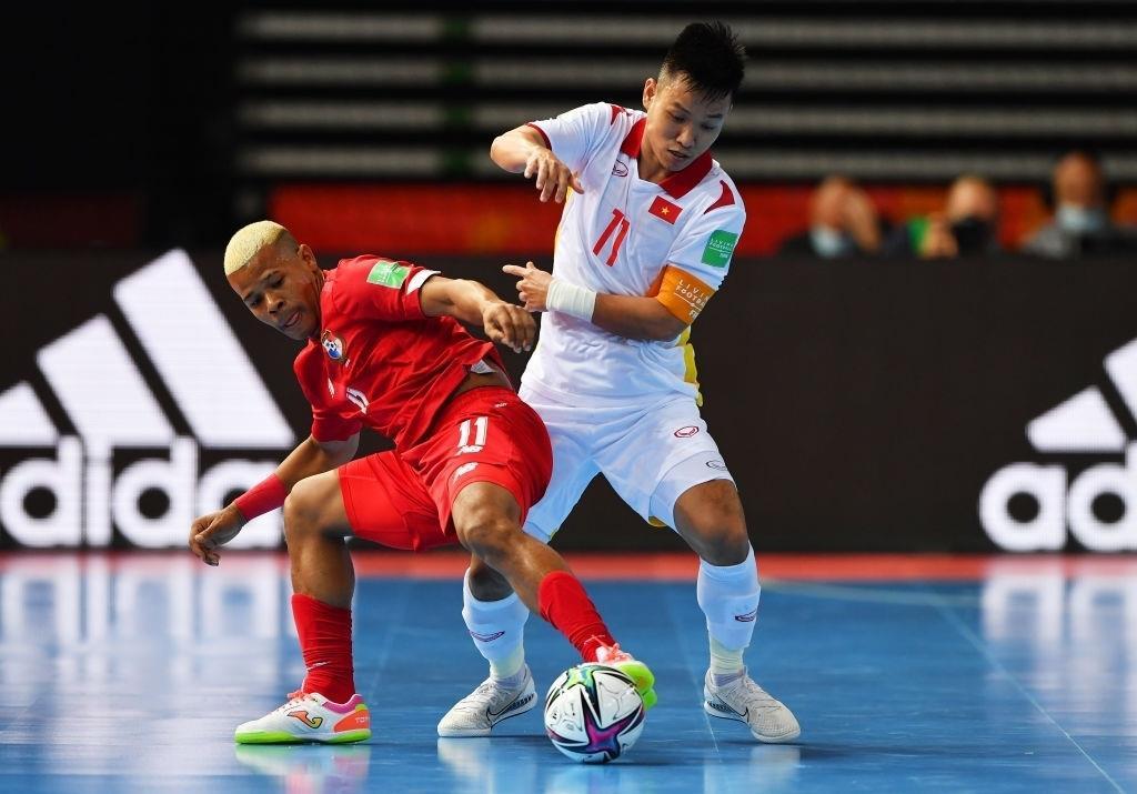 Đánh bại Panama, tuyển Việt Nam sáng cửa qua vòng bảng World Cup futsal 2021 - 2