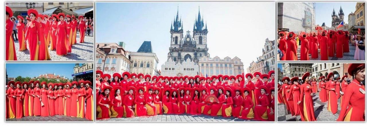 Quỹ Nhân ái Áo dài Phu nhân Châu Âu, kiều bào Sacarmento, Hoa Kỳ ủng hộ TP.HCM chống dịch