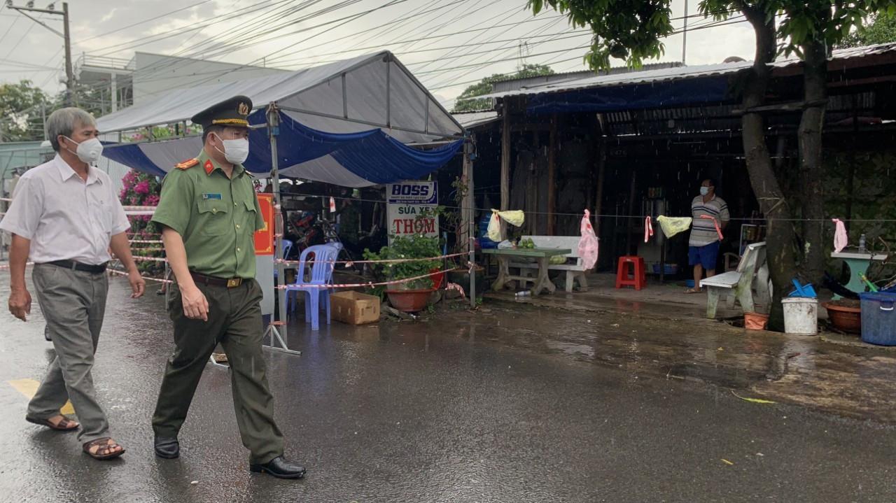 Công an An Giang quyết chiến tại tâm dịch ở huyện đầu nguồn biên giới.