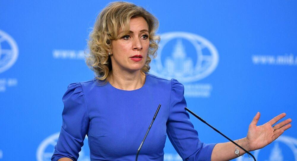 Người phát ngôn Bộ Ngoại giao Nga Maria Zakharova  (Nguồn: Sputnik)
