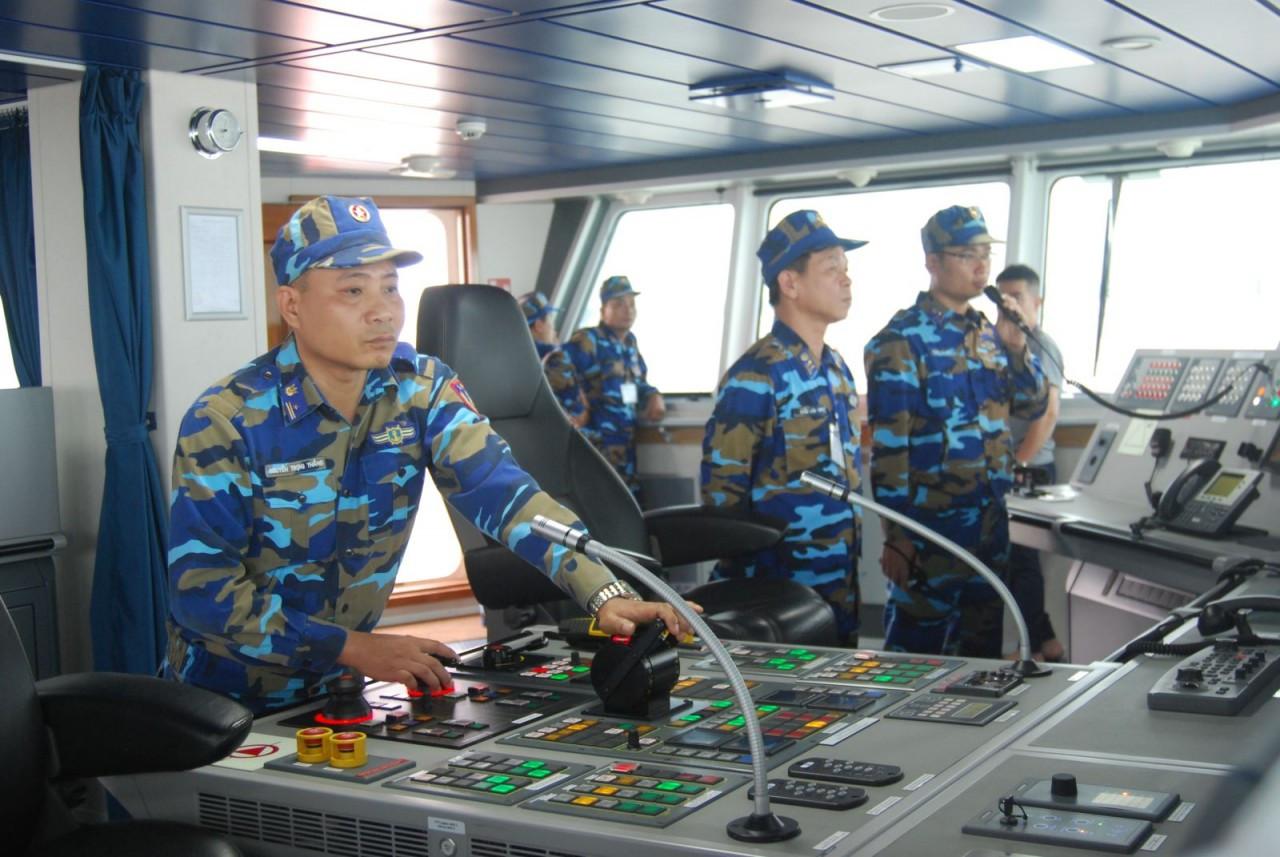 Cảnh sát biển Việt Nam: Huy động người, tàu thuyền và phương tiện, thiết bị kỹ thuật dân sự