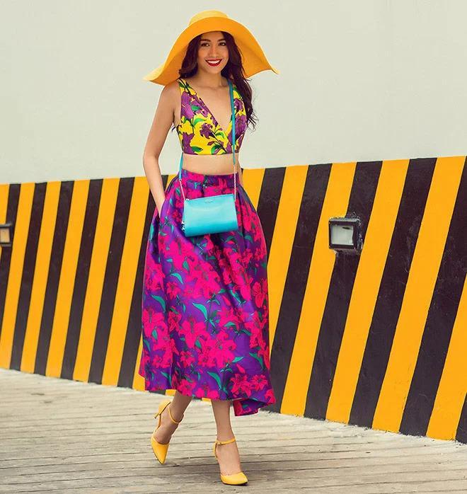 Sao Việt phối đồ màu sắc: Người chất chơi - kẻ như tắc kè hoa-1