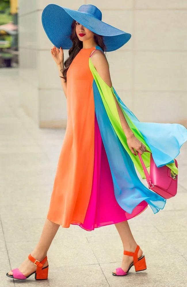 Sao Việt phối đồ màu sắc: Người chất chơi - kẻ như tắc kè hoa-2