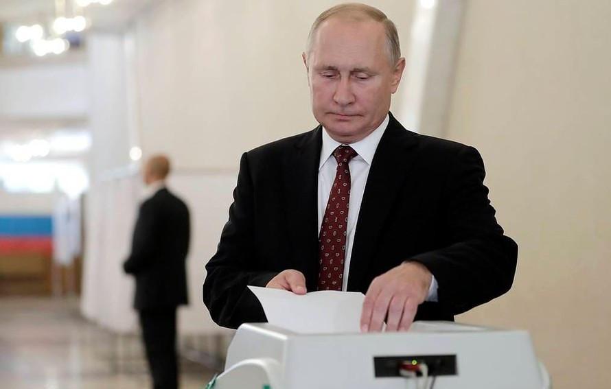 Tổng thống Nga Putin. (Nguồn: Tass)