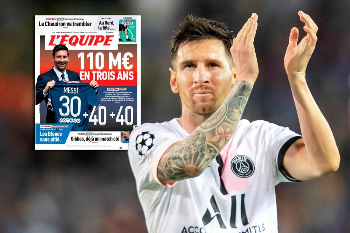 Tờ L'Equipe tiết lộ điều khoản