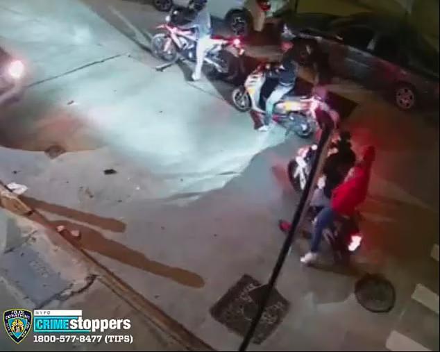 Băng cướp tẩu thoát khỏi hiện trường cùng chiếc BMW