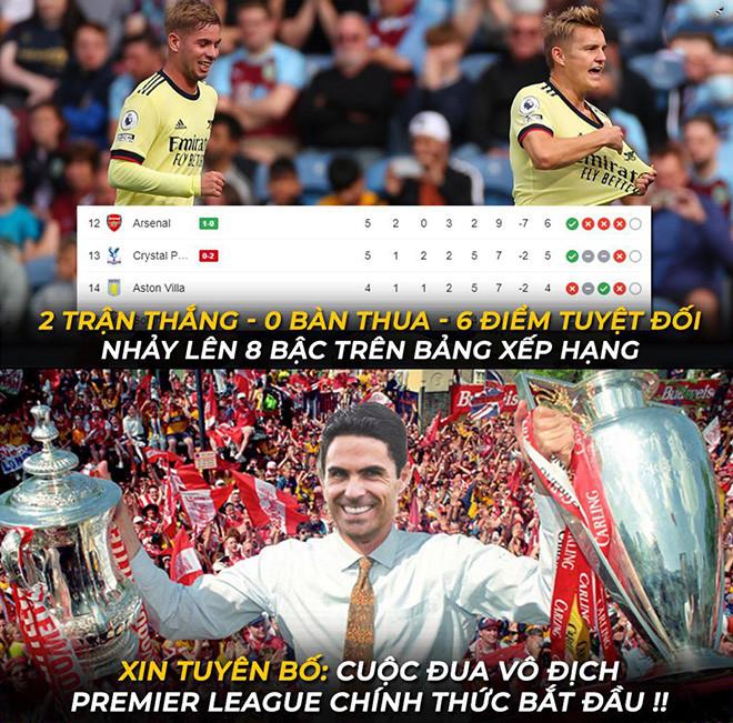 Ảnh chế: Liverpool leo lên ngôi đầu, Arsenal tiếp tục thắng khiến fan mơ tưởng - 3