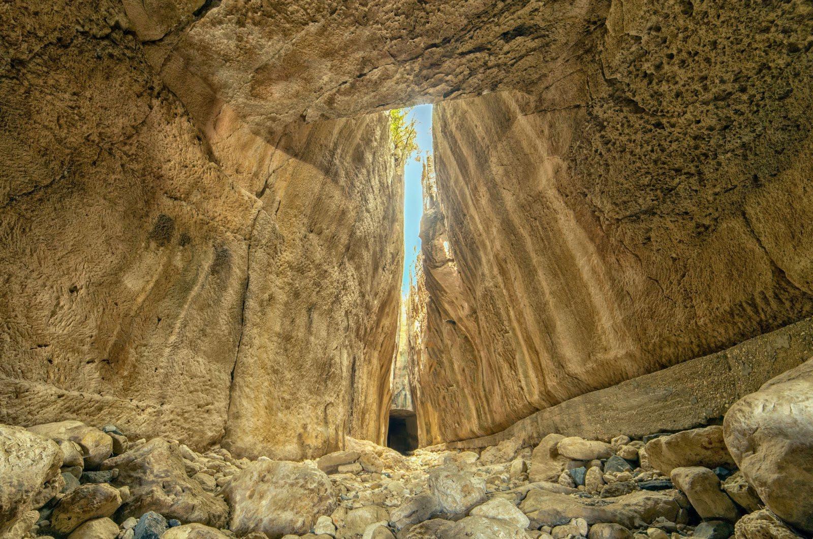 Kỳ quan ngăn nước lũ 2000 năm trước ở Thổ Nhĩ Kỳ - 1