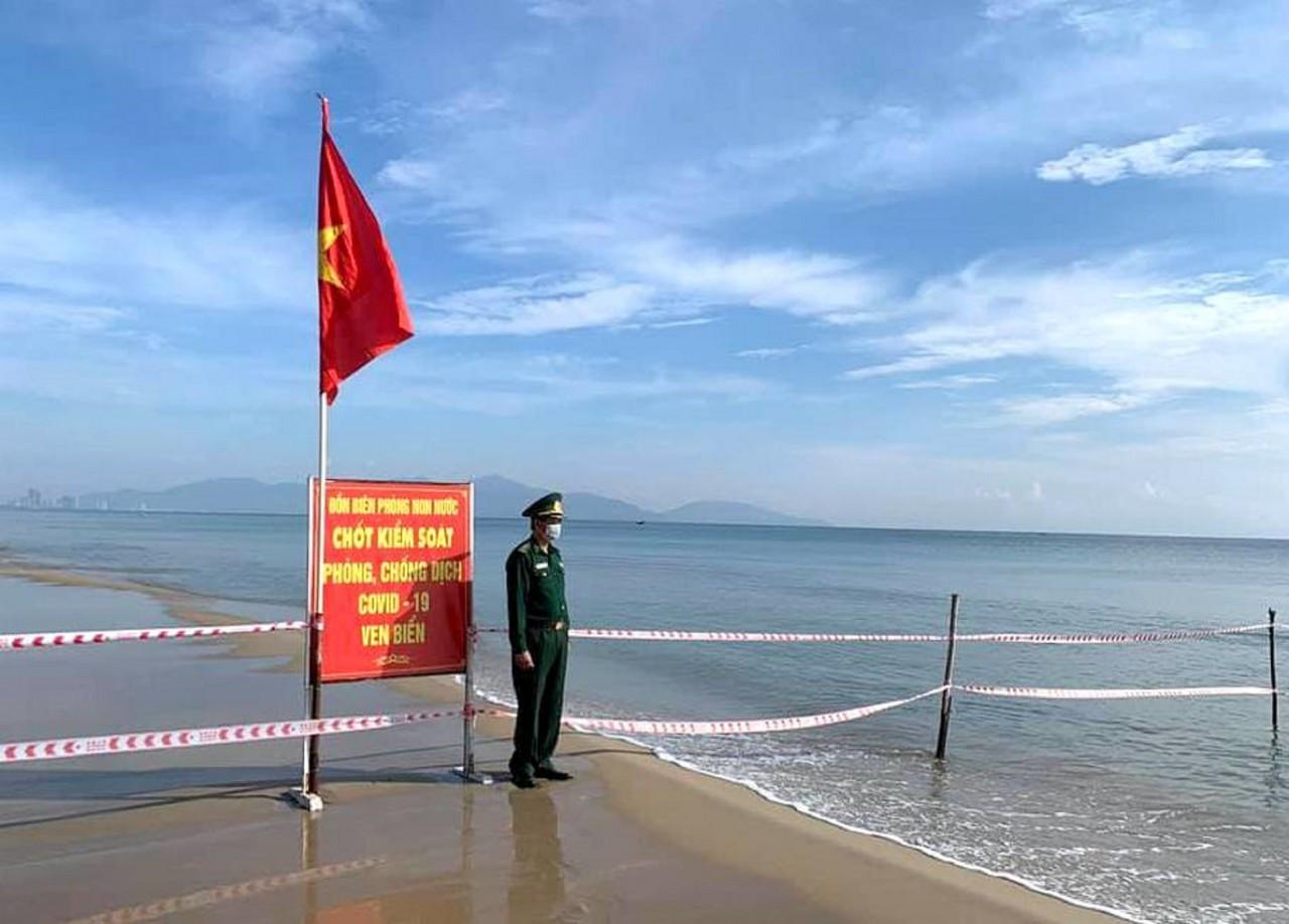 Chốt kiểm dịch của Đồn Biên phòng nơi cửa biển