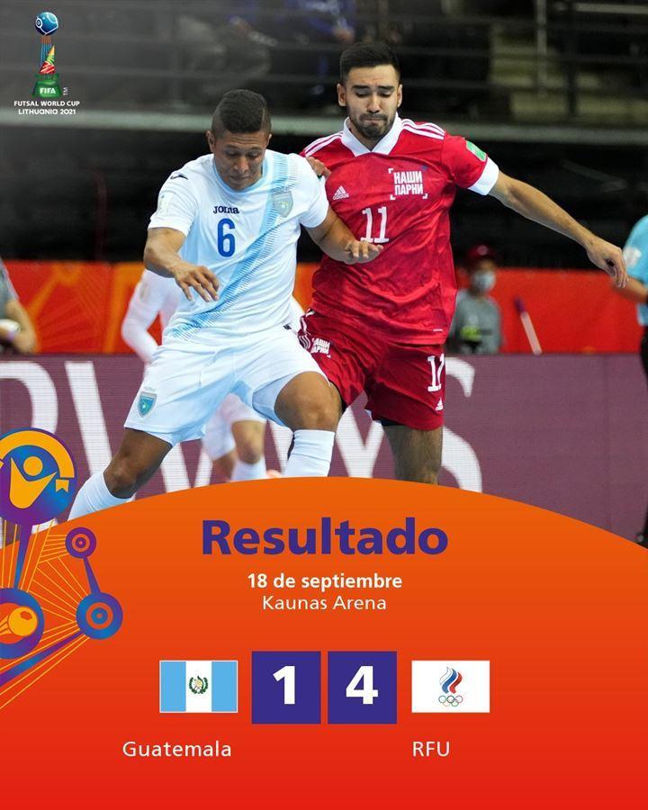 Xác định 10 đội vào vòng knock-out World Cup Futsal 2021