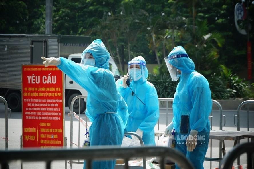 Hà Nội: Phong tỏa tạm thời hơn 1.200 dân sau khi phát hiện F0-1