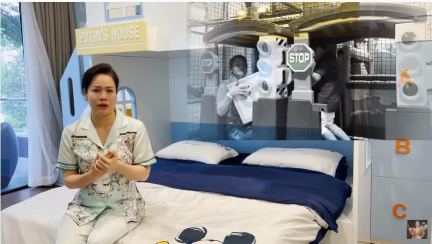 Nhật Kim Anh khóc mừng sinh nhật con, nhắc đến chồng cũ-3