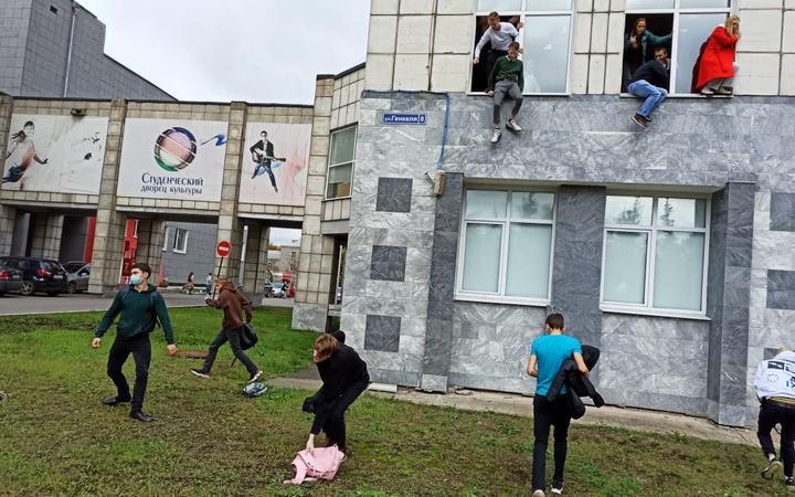 Nga: Xả súng kinh hoàng vào trường đại học, hàng chục người thương vong. (Nguồn: AFP)