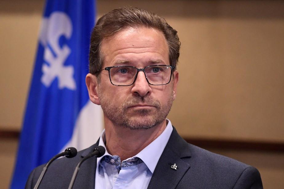 Ông Yves-Francois Blanchet. (Nguồn: La Presse)