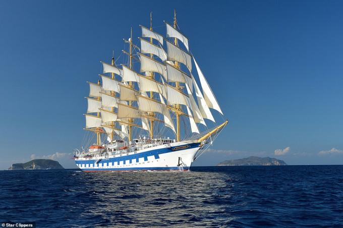 Du lịch trên thuyền buồm lớn nhất thế giới Golden Horizon - 10