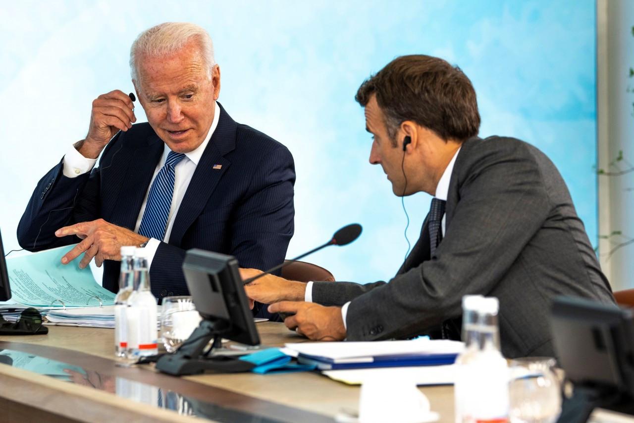 Ông Biden sẽ nói chuyện với người đồng cấp Macron để giải quyết vụ tàu ngầm