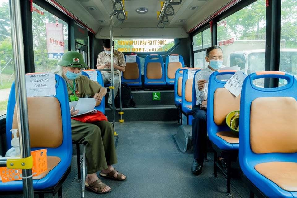 Các biện pháp để xe buýt Hà Nội hoạt động trở lại an toàn từ 21/9