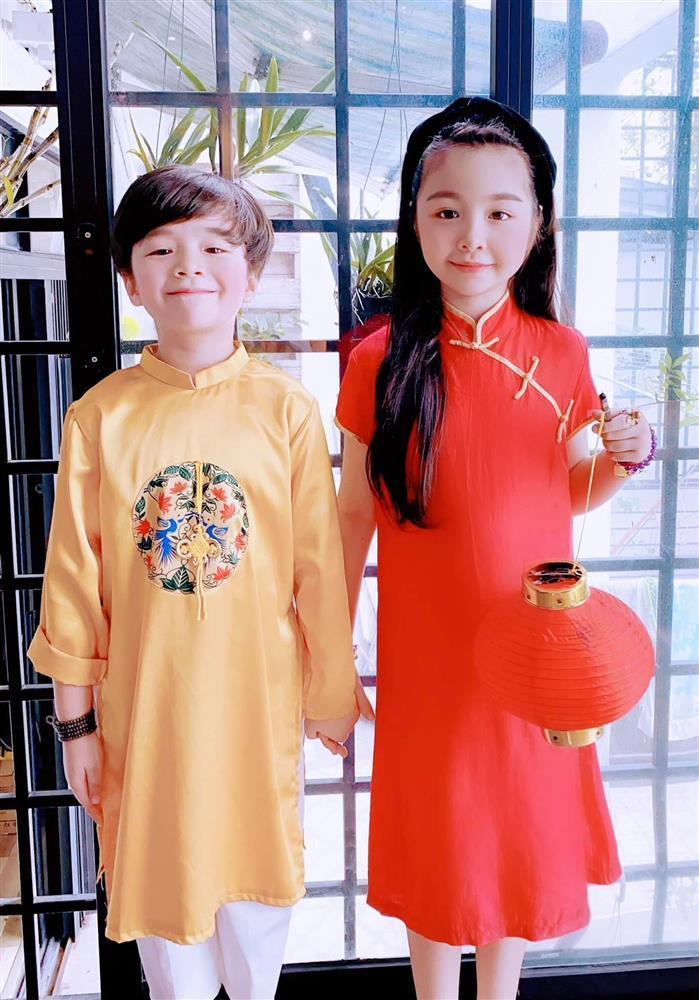 Cặp nhóc tỳ nhà Elly Trần lớn phổng phao, đẹp miễn chê-1