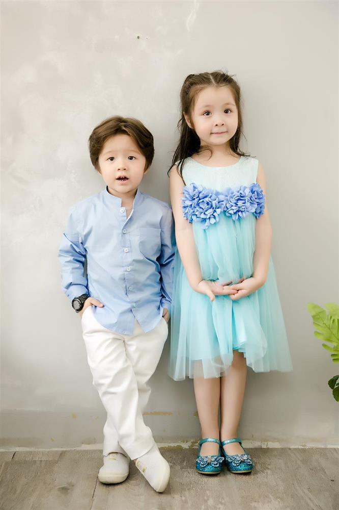 Cặp nhóc tỳ nhà Elly Trần lớn phổng phao, đẹp miễn chê-6