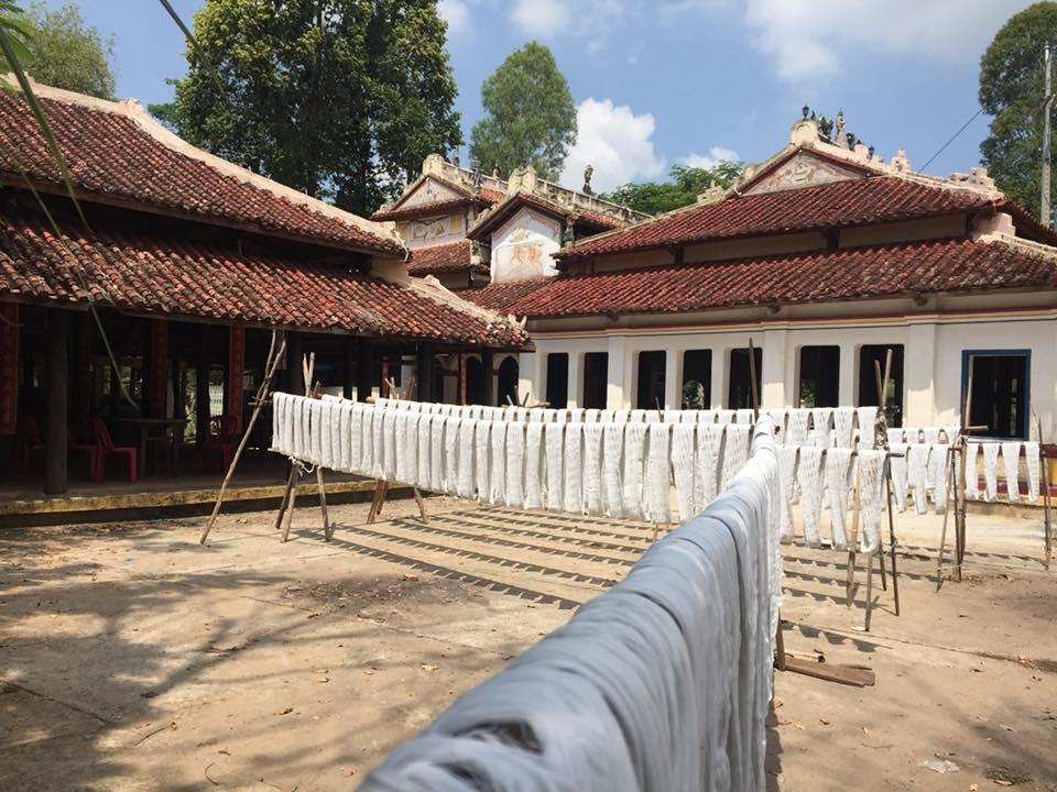 Làng nghề dệt khăn rằn trăm năm tuổi ở vùng đất sen hồng - 5