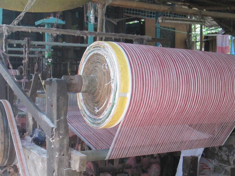 Làng nghề dệt khăn rằn trăm năm tuổi ở vùng đất sen hồng - 6