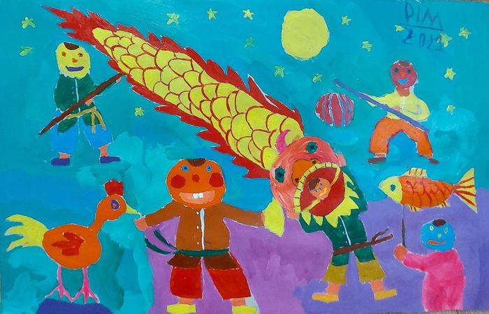 Ăn bánh, ngắm trăng, thưởng thức tranh online mừng Tết Trung thu - 1