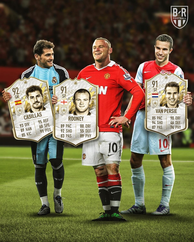3 cái tên mới gia nhập danh sách huyền thoại trong FIFA 22. (Ảnh: Bleacher Reports)
