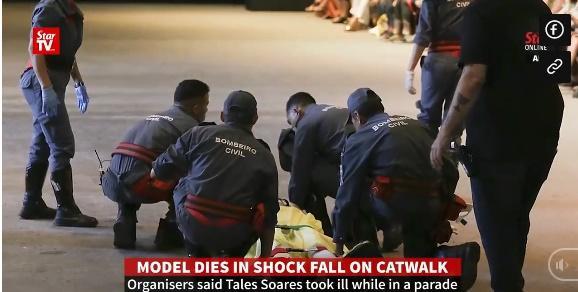 SỐC: Người mẫu đột tử khi đang catwalk trong show thời trang-5
