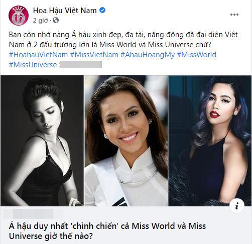 Fanpage Hoa hậu Việt Nam liên tục đăng tin sai sự thật-1