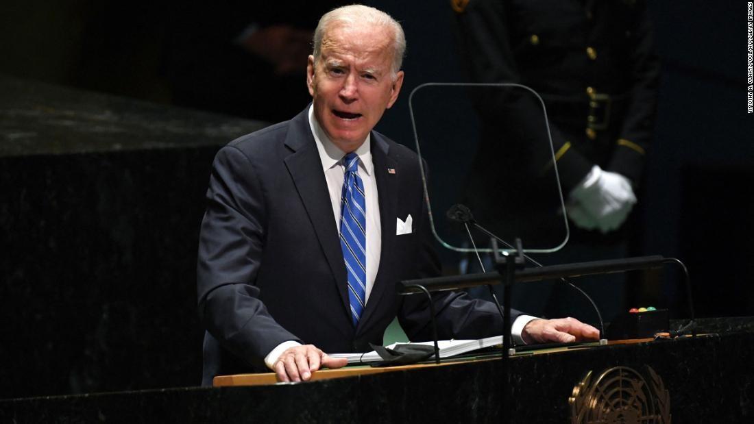 Tổng thống Mỹ Joe Biden phát biểu tại Đại hội đồng Liên hợp quốc: Cơ hội lớn được tận dụng ra sao? (Nguồn: CNN)