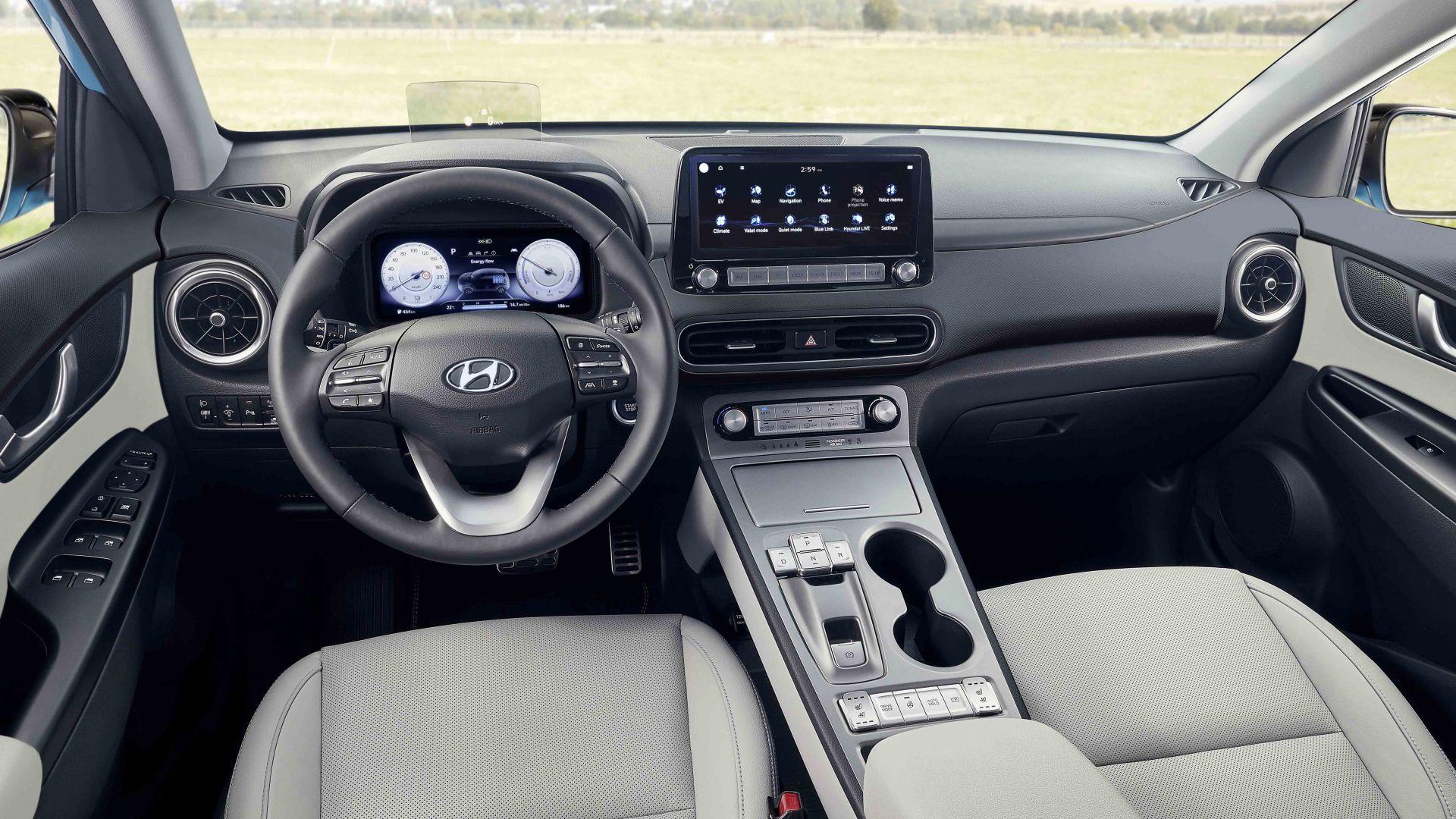 Hyundai Kona Electric facelift 2021 cập bến Malaysia