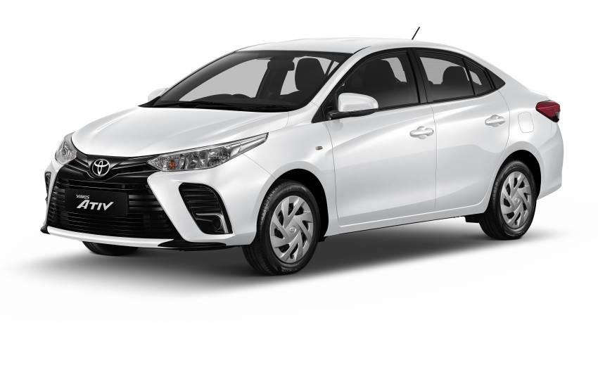 Toyota Vios 2022 nâng cấp ra mắt tại Thái Lan