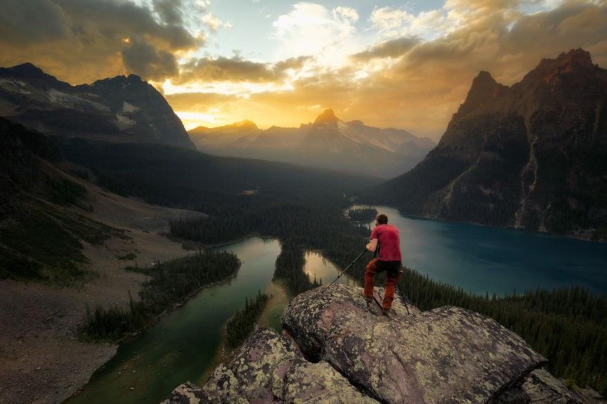 Choáng ngợp trước thiên nhiên hùng vĩ qua bộ ảnh của cặp đôi Canada - 18