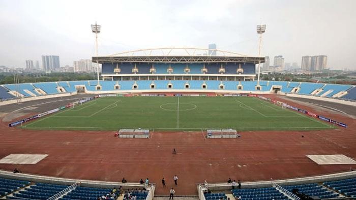 Sân Mỹ Đình nhận nhiều đánh giá tệ từ AFC - 1