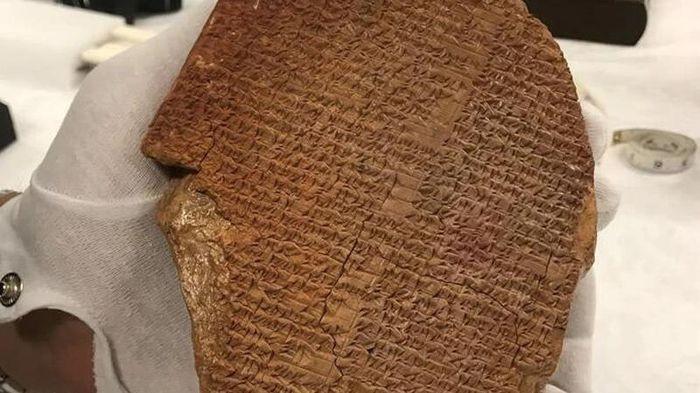 Mỹ sẽ trả lại cổ vật 3.500 tuổi cho Iraq trong tuần này