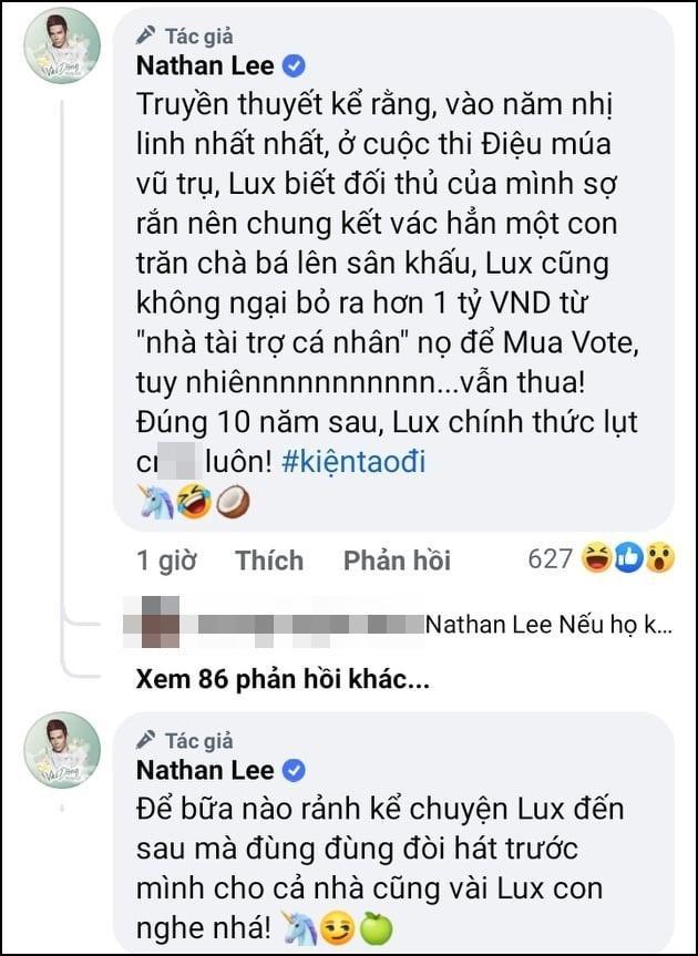Nathan Lee kể sao nữ chơi xấu, liệu có phải cô T đang hot?-3
