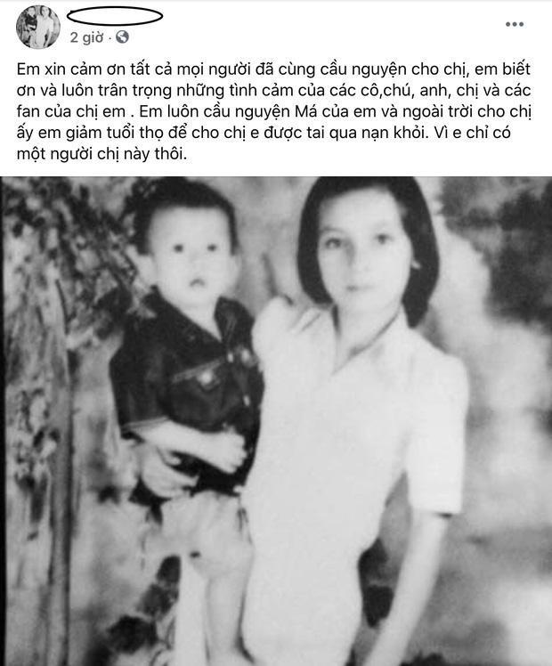 Em ruột Phi Nhung: Con em chưa gặp mặt cô hai, mau tỉnh dậy đi chị-2