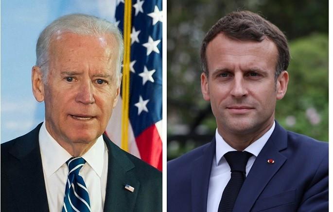 Sau AUKUS, Tổng thống Mỹ dập lửa giận của Pháp, Paris 'xuống thang'