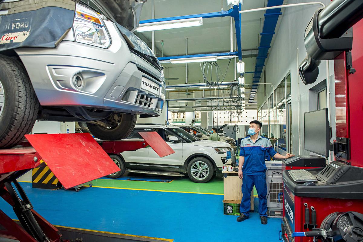 Ford Việt Nam duy trì Dịch vụ cứu hộ 24/7