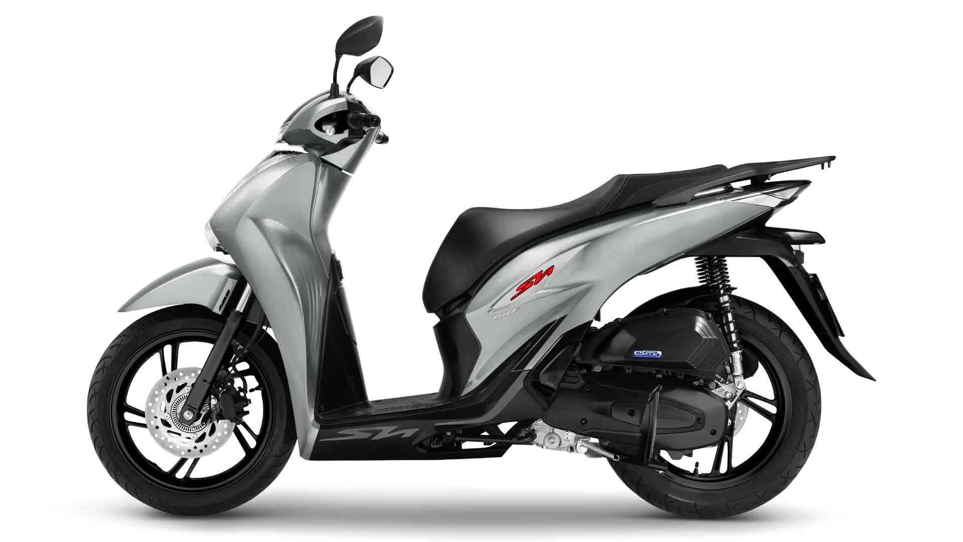 Honda SH phiên bản màu xám bóng