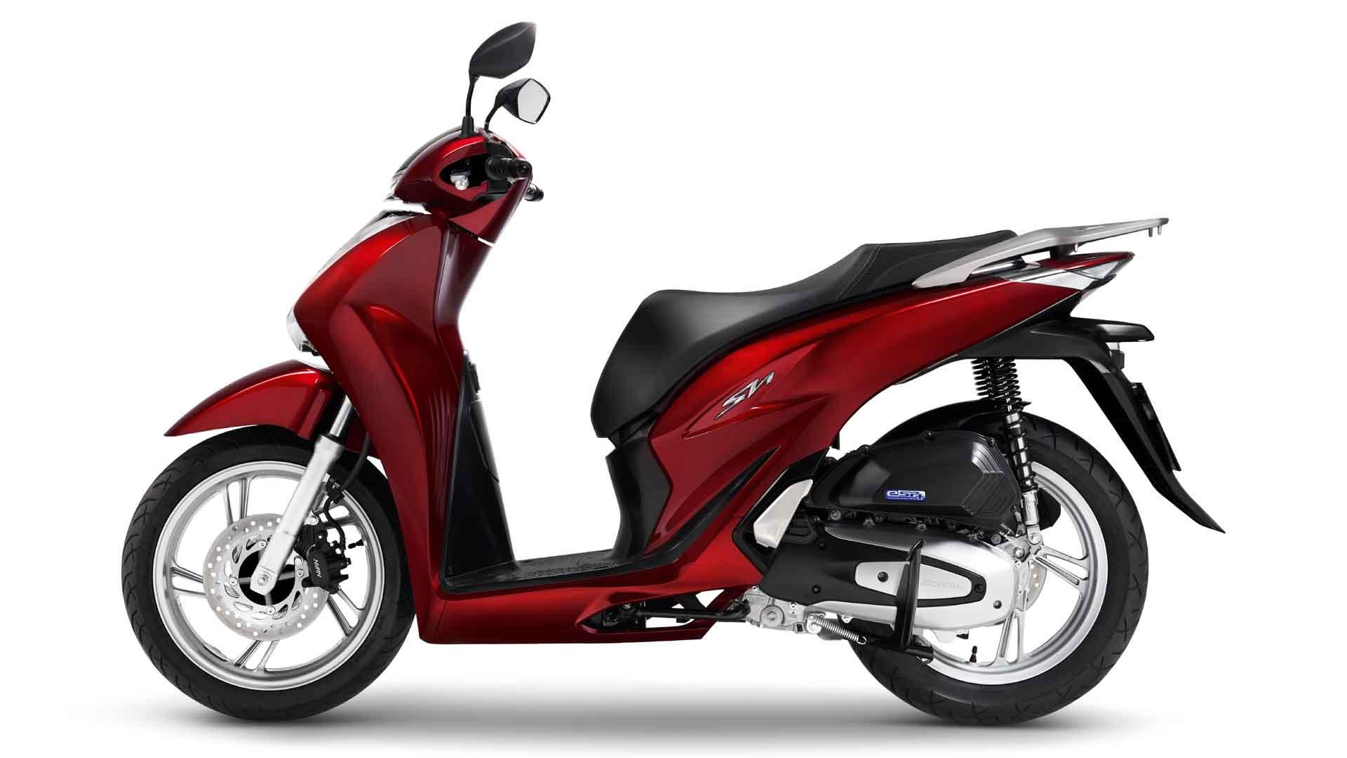 Honda SH phiên bản màu đỏ
