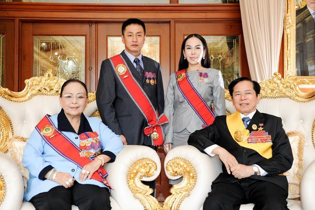 Gia đình doanh nhân Lê Văn Kiểm và bà Trần Cẩm Nhung