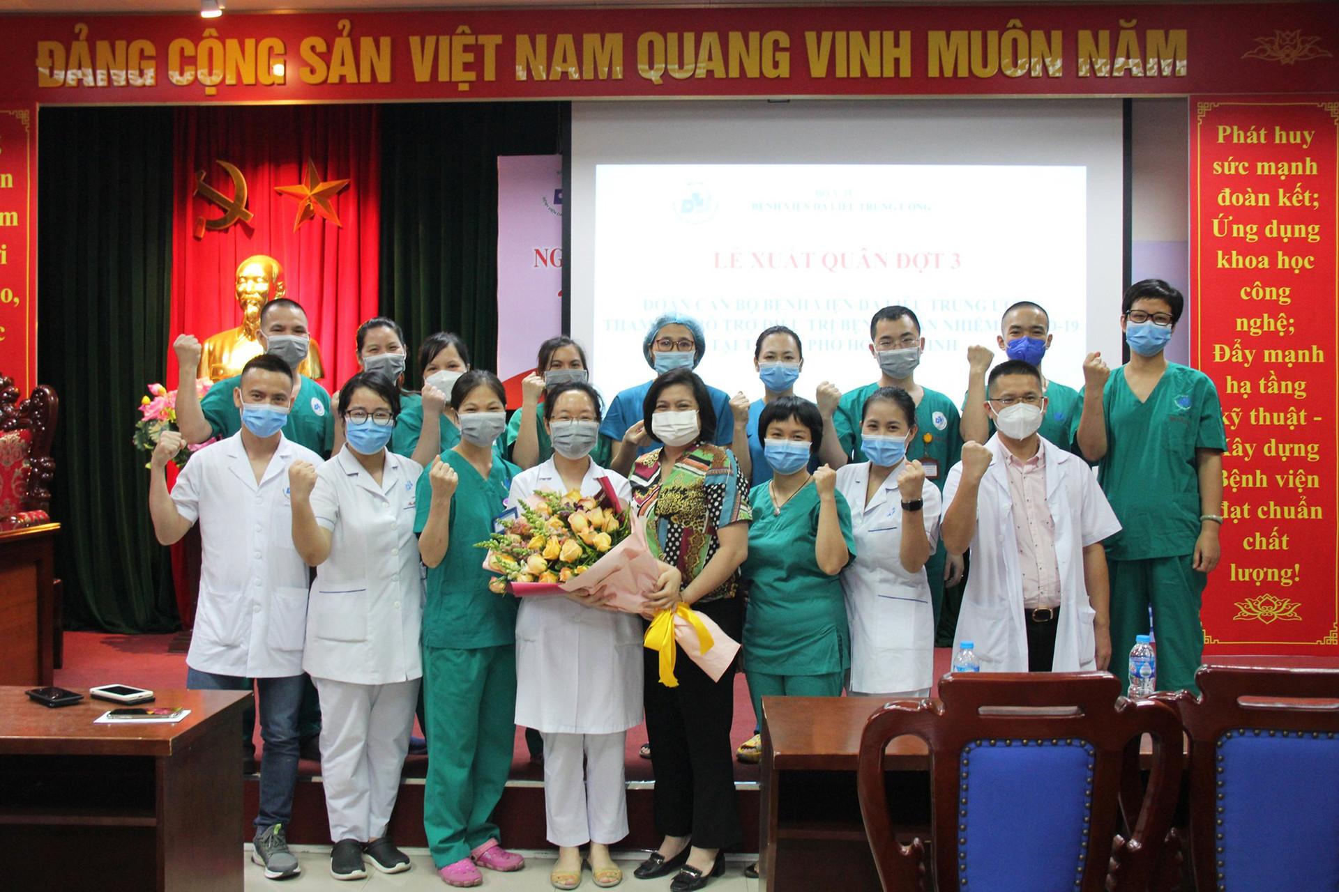 Lần thứ 3, thầy thuốc BV Da liễu Trung ương chi viện miền Nam chống dịch - Ảnh 4.