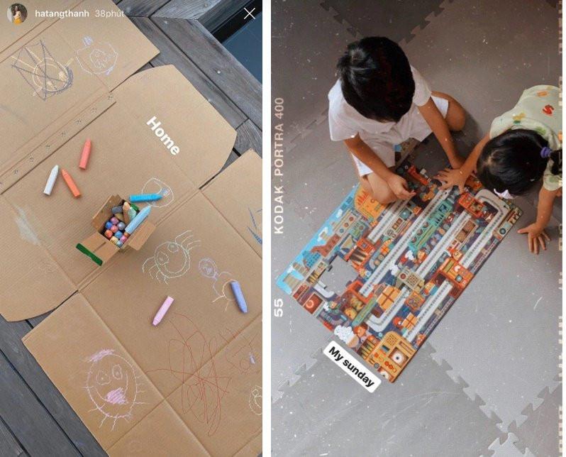 2 rich kid nhà Hà Tăng đam mê trò chơi này mùa dịch, 1 chi tiết nhỏ chứng minh ngọc nữ dạy con quá khéo-1