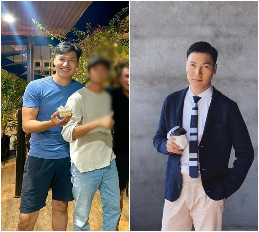 Dự sinh nhật Phương Oanh, Mạnh Trường lôi thôi khác xa phim-4