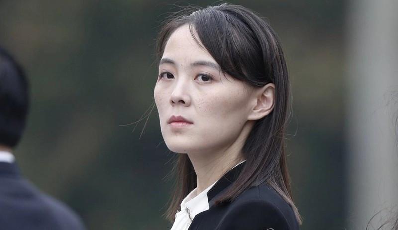 Bị Mỹ-Hàn phớt lờ cảnh cáo, em gái nhà lãnh đạo Triều Tiên 'gằn giọng', nói phản bội. (Nguồn: Yonhap)