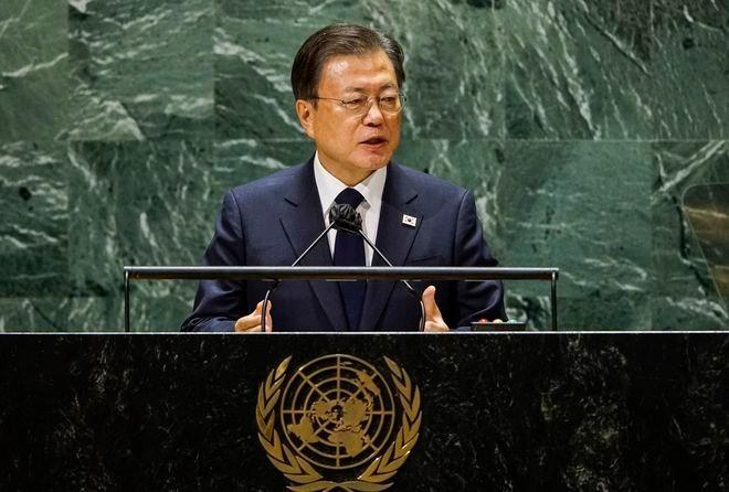 Triều Tiên: Tuyên bố chẳng mấy giá trị về kết thúc chiến tranh... (Nguồn: AP)