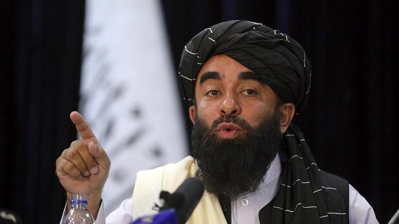Người phát ngôn của Taliban Zabihullah Mujahid. (Nguồn: Cgtn)